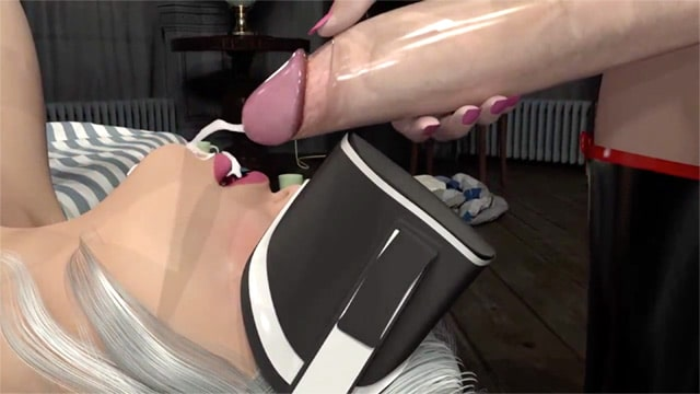 Lilly get bondaged and dominated by her futa girlfriend